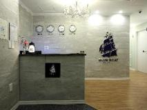 Blueboat Hostel Haeundae Premium: reception