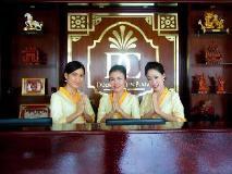 Douangchan Plaza Hotel: reception