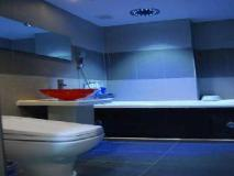 Songdo Theme Hotel: bathroom