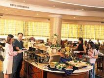 Pousada Marina Infante Hotel: buffet