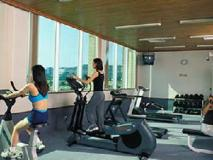 Pousada Marina Infante Hotel: fitness room