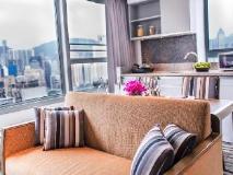 Somerset Victoria Park Hong Kong: guest room