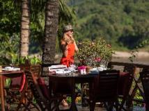Mekong Cruises - The Luang Say Cruise - Houeisay to Luang Prabang: restaurant