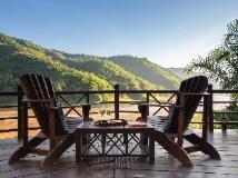 Mekong Cruises - The Luang Say Cruise - Houeisay to Luang Prabang: balcony/terrace