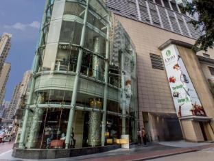 L'Hotel Causeway Bay Harbour View Hongkong - Eingang