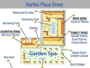 Febri's Hotel & Spa Bali - Floor Plans