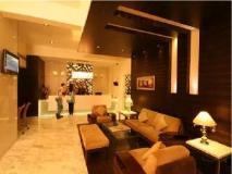 Krishna Palace Hotel: lobby