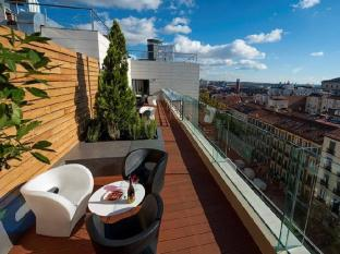 Hotel Paseo Del Arte Μαδρίτη - Μπαλκόνι/Βεράντα