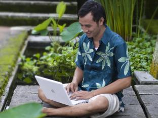 Komaneka at Tanggayuda Ubud Bali - Wi-Fi Area