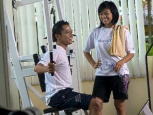 Novotel Batam Hotel Batam Island - Fitness Room