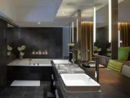 Spa suite med kingsize-seng