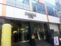 Shin Shin Hotel: entrance