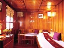Vat Phou Mekong Cruise: guest room