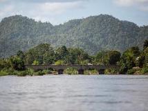 Vat Phou Mekong Cruise: view