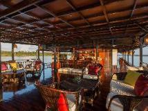 Vat Phou Mekong Cruise: balcony/terrace