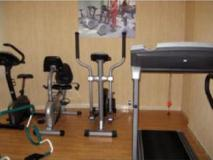Pan Gulf Hotel Suites: fitness room