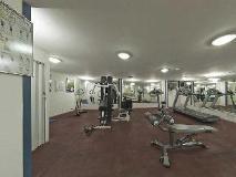 Beach Hotel Sharjah: fitness room
