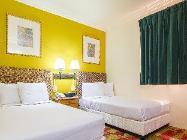 Paaugstināta komforta numurs ar divām vienvietīgām gultām
