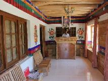 Hotel Mahay Palace: reception