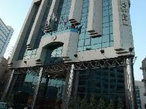 York International Hotel: entrance