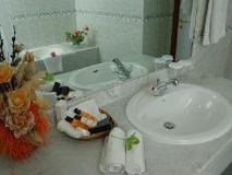 York International Hotel: bathroom