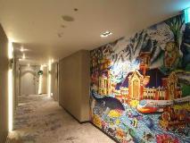 The Cloud Hotel: interior