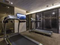 The Cloud Hotel: fitness room