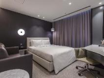 The Cloud Hotel: guest room