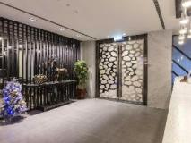 The Cloud Hotel: entrance