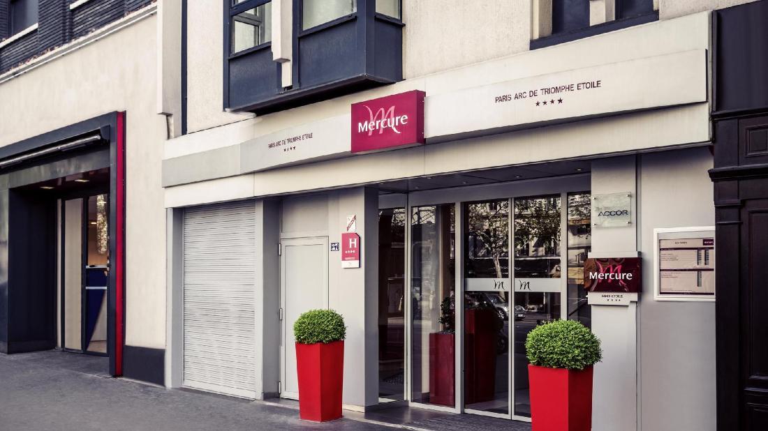 Mercure paris arc de triomphe etoile hotel paris france - Hotel arc de triomphe etoile ...