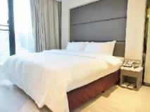 A Hotel: guest room