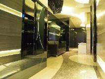 A Hotel: lobby