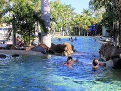 BIG 4 Aussie Outback Oasis Cabin and Van Village  | Australia Budget Hotels