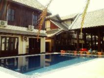 Le Vangbua Villa: swimming pool