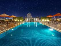 rooftop swimming pool   Thailand Hotel Discounts
