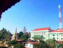 Oulayphet Hotel: view