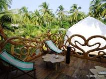 The Mandala Resort: balcony/terrace