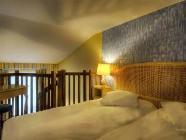 Kamer met tweepersoonsbed of 2 aparte bedden