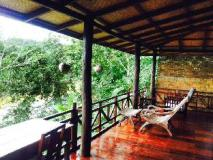 Lao Spirit Resort: balcony/terrace