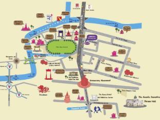 Sawasdee Welcome Inn Hotel Bangkok - Map