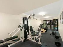 Sandcastles on the Broadwater: fitness room