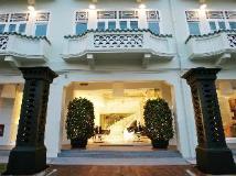 Singapore Hotel   evening facade