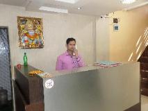 Hotel Pratham Executive: reception