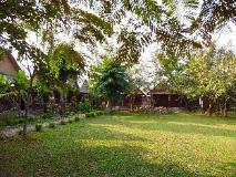 Phou Iu II Bungalow: garden