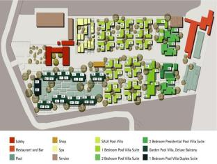 SALA Phuket Resort and Spa Phuket - Floor Plans