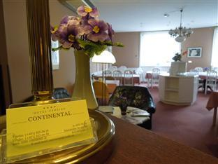 Hotel Pension Continental Vienna - Lobby/Breakfast area