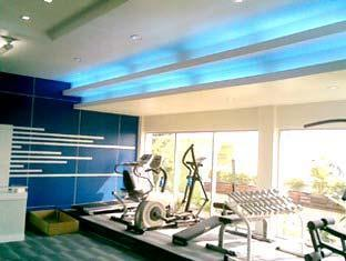 Grande Ville Hotel Bangkok - Fitnessrum