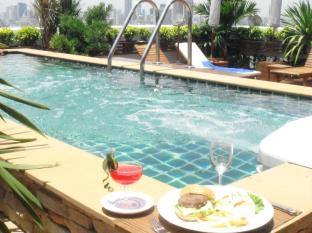 曼谷格兰维尔酒店 曼谷 - 按摩浴缸