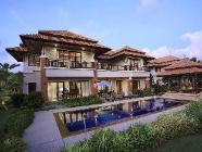 Vila se 4 ložnicemi a bazénem