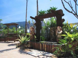 라야부리 호텔 파통 푸켓 - 정원